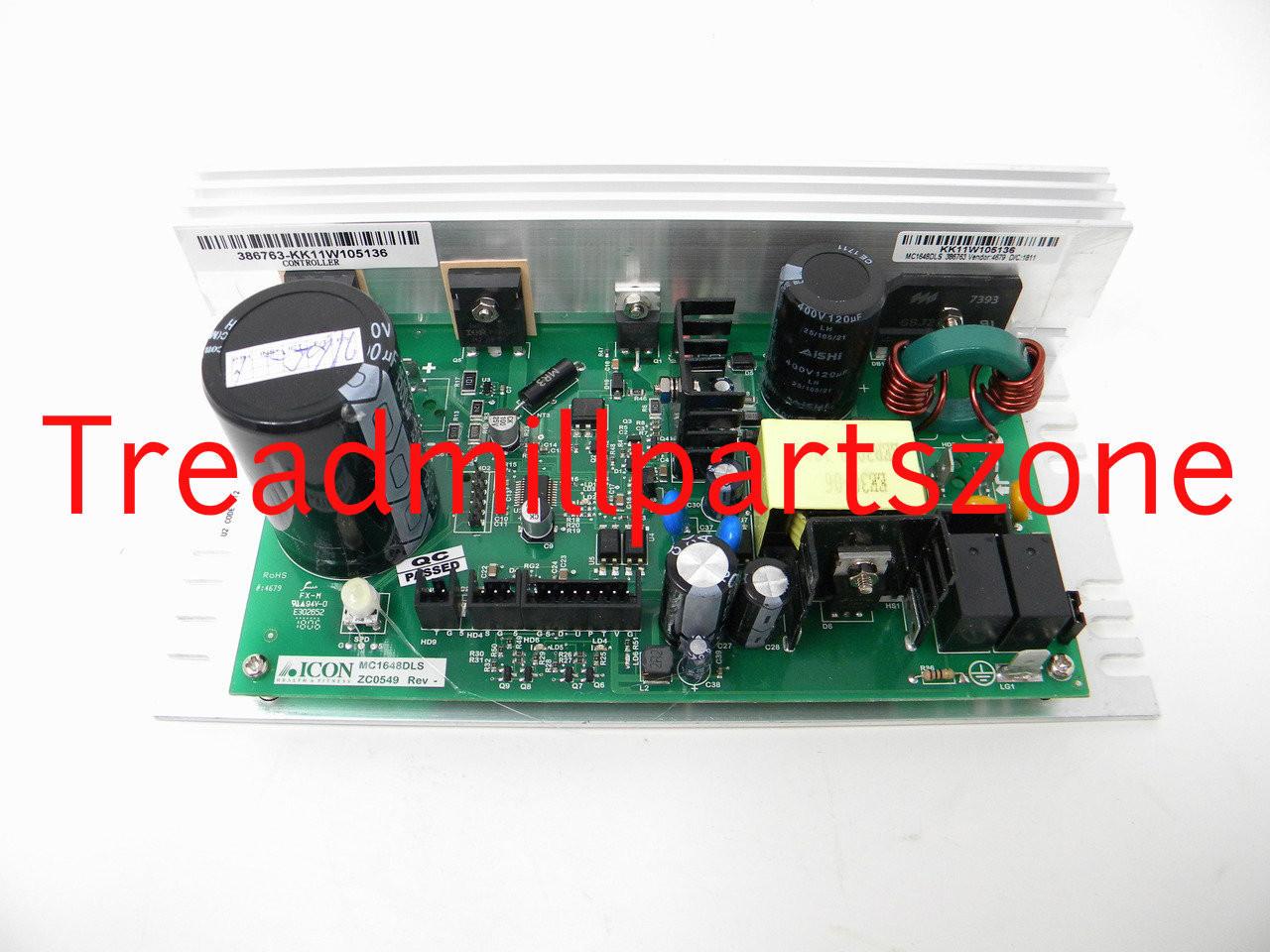 Treadmill Motor Controller Part Number 399606