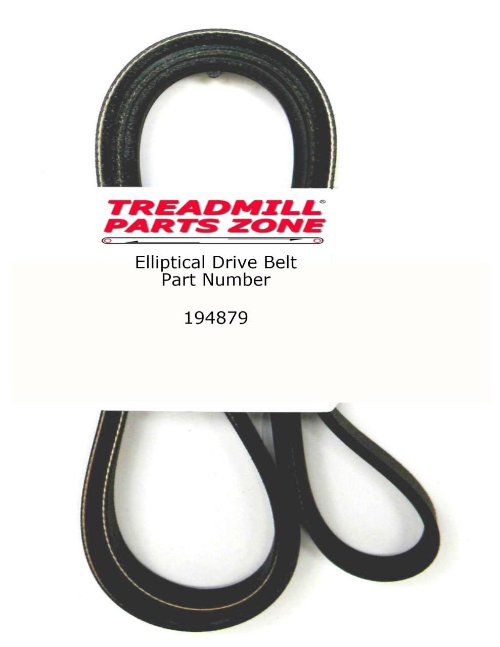 ProForm Bike Model PFEVEX61830 762 EKG Drive Pulley Belt Part Number 194879