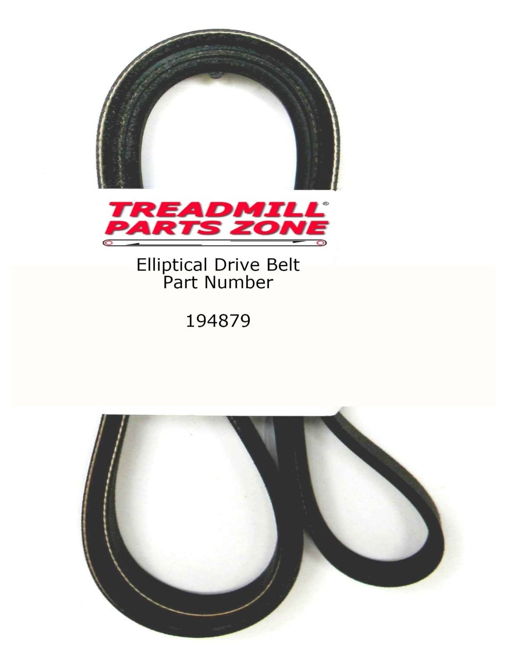 ProForm Bike Model PFEX20961 GT85X Drive Pulley Belt Part Number 194879