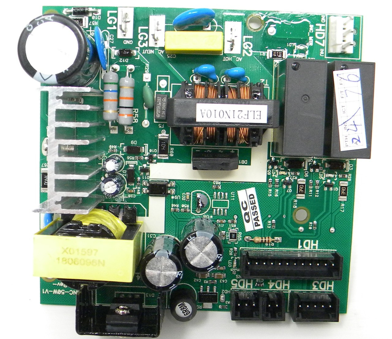 Elliptical Power Board Part Number 333432