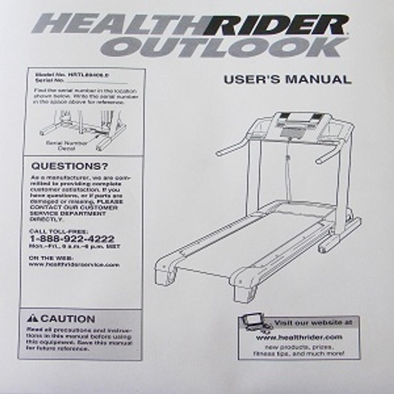 Healthrider outlook treadmill safety key hrtl894061 | ebay.