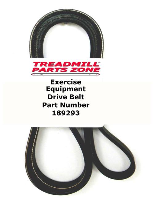 Epic Model EPEX49050 420 R Bike Drive Belt Part 189293