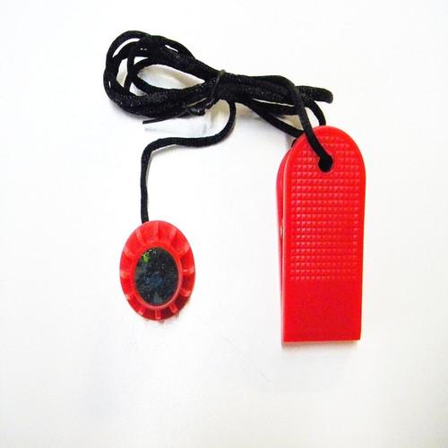 Nautilus Treadclimber Model TC6000 Safety Key Part Number 000-4446