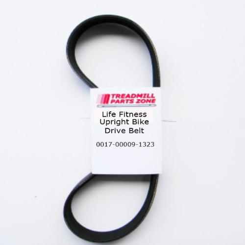 Life Fitness Upright Bike Model PCSC-ALLXX-06 Drive Belt Part 0017-00009-1323