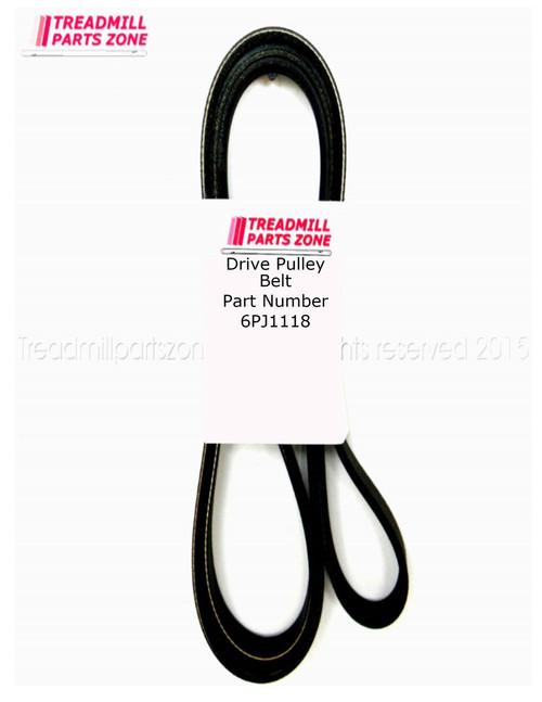 Exercise Equipment Drive  Belt Part Number 6PJ1118MM