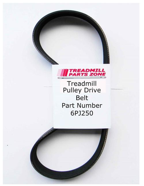 Exercise Equipment Drive Belt Part Number 6PJ250