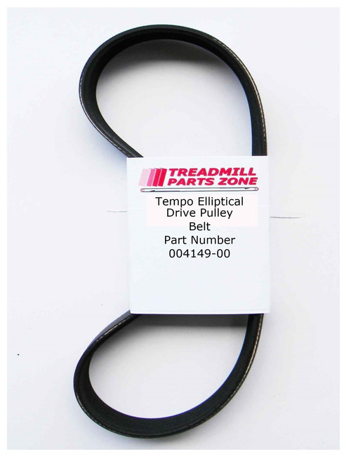Tempo Elliptical Model Evolve EP549 Drive Belt Part Number 004149-00