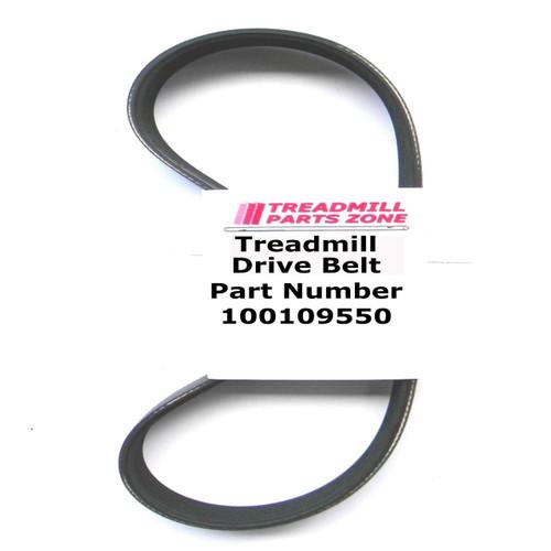 AFG Treadmill Model 1.0AT TM319 Motor Drive Belt Part Number 1000109550