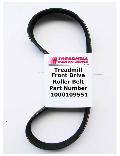 AFG Treadmill Model Sport 2.5AT Motor Drive Pulley Belt Part Number 1000109551