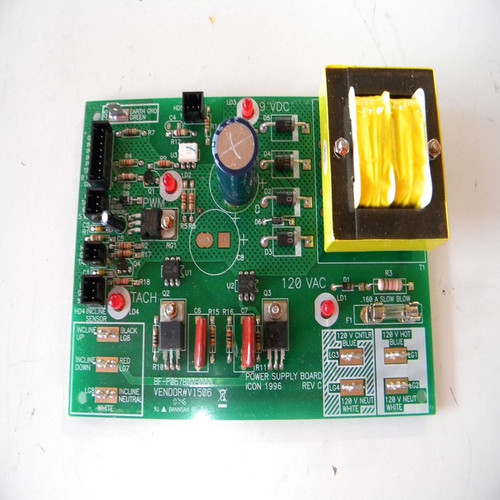 Treadmill Power Supply W/Clips Part Number 161602