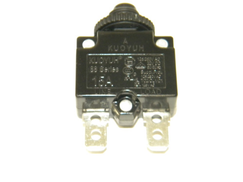 Nautilus Treadmill Model T618 15Amp Circuit Breaker Part Number 8004775