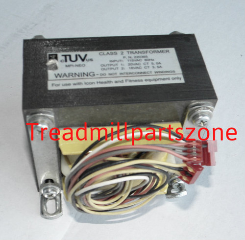 Treadmill Transformer Part Number 223671