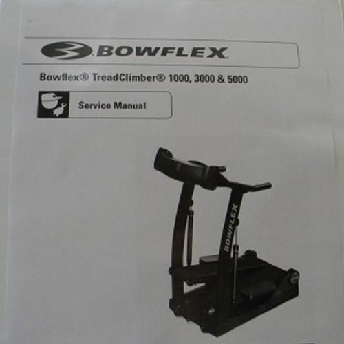 Nautilus Treadclimber Service Manual TC1000 TC3000 TC5000