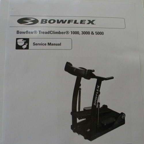 BowFlex Treadclimber Service Manual TC1000 TC3000 TC5000