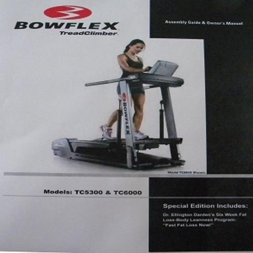 BowFlex Treadclimer Service Manual TC5300 TC6000