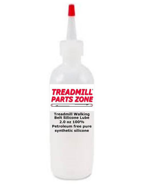 Treadmill Walking Belt Silicone Lube 2.0 oz 100% Petroleum free pure synthetic silicone