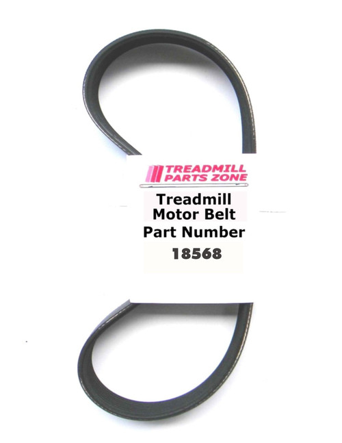 Bowflex Treadclimber Motor Belt Part Number 18568