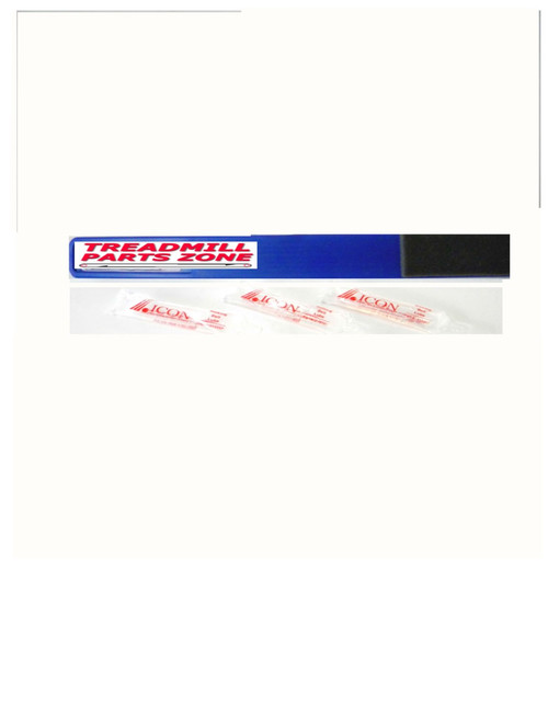 "ICON Health & Fitness Walking Belt 0.5 OZ Liquid Wax Lube  16"" Foam Applicator"