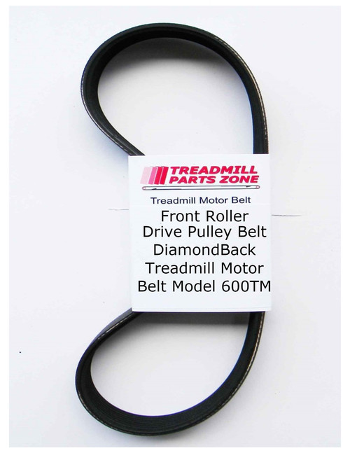 DiamondBack Treadmill Motor Belt Model 600TM
