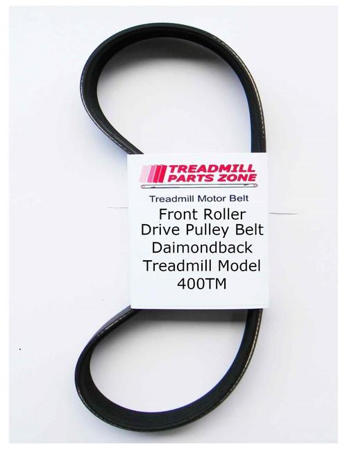 DiamondBack Treadmill Motor Belt Model 400TM