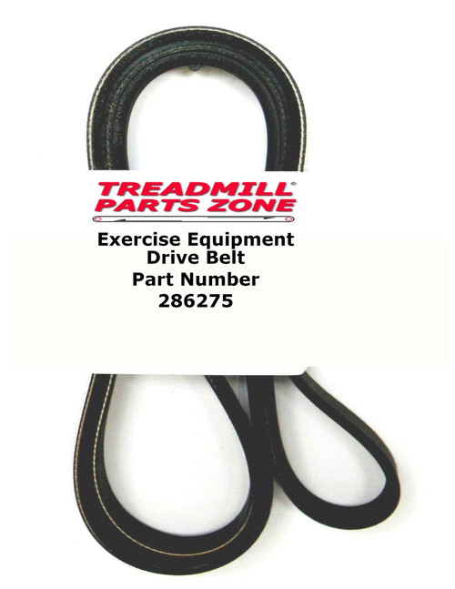 Elliptical Model Pro Form PFEL949100 Drive Pulley Belt Part 286275