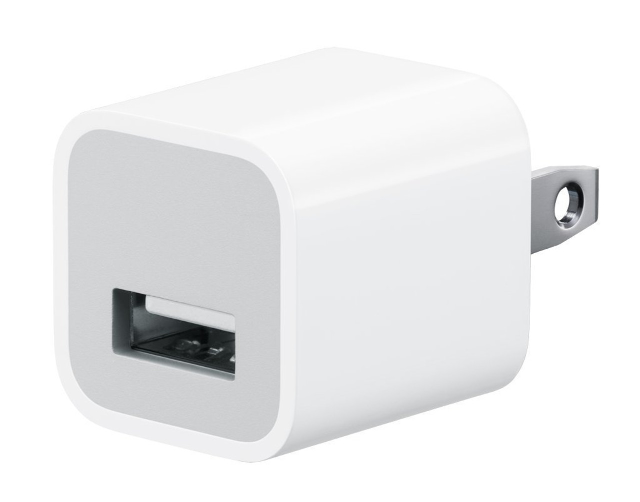 Apple USB Cube Adapter 5W Wall Charger for iPod, iPad, iPhone
