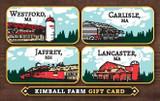 Kimball Farm Gift Card - $75