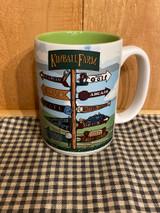 Kimball Farm Signpost Mug
