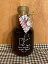 Maple Syrup in Glass New England Jar (8.5oz)