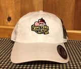 White cotton hat