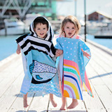 Kids Beach Ponchos