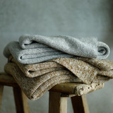 Chambray Throw by MM Linen