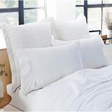 Abbotson Linen Sheeting and Pillowcase Separates by Sheridan