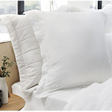 Tailored Euro Pillowcase - White
