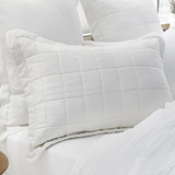 Standard Pillow Sham - White