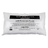 Microfibre Lodge Pillow by Top Drawer