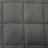 Closeup of DryLife® Granite Microfibre Boxed End Quilt