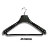Suit & Jacket Clothes Hanger with Swivel Hook and Bar