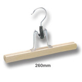 Wooden Skirt/Trouser Clamp Coat Hanger