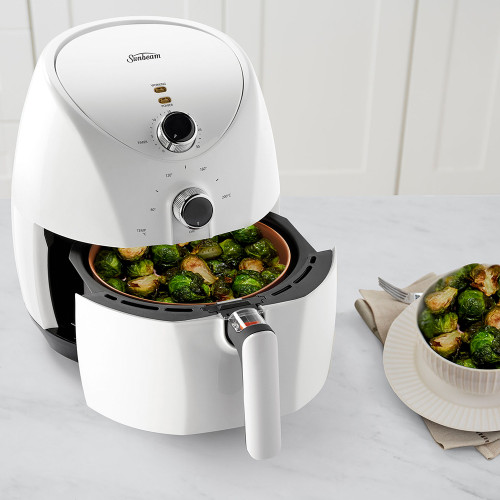 Copper Infused DuraCeramic™ Air Fryer by Sunbeam (AFP4000WH)
