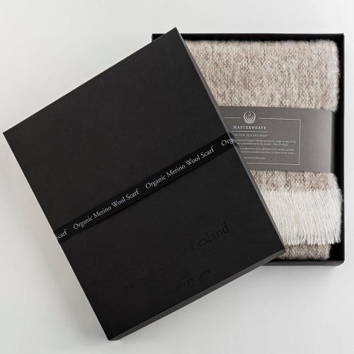 Organic Merino Wool Scarves by Masterweave
