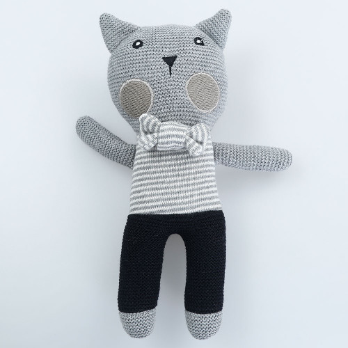 Charlie Cat Soft Toy by MM Linen