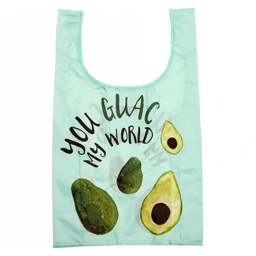 Eco Recycled PET You Guac My World Shopping Bag by Ladelle