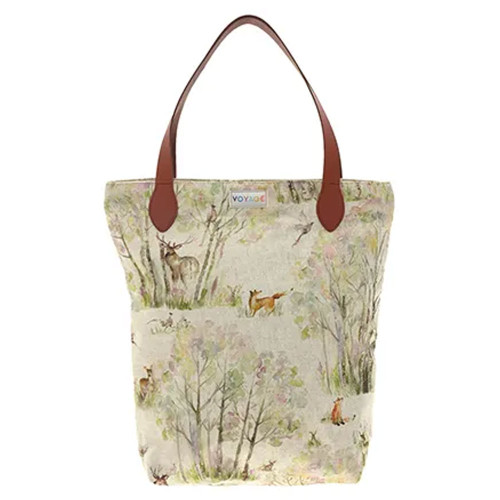 Enchanted Forest Shopper Bag by Voyage Maison