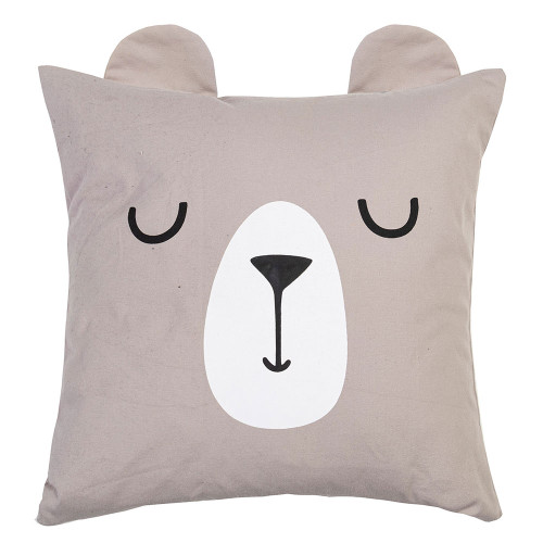 Brody Bear Kids Cushion by Linens & More