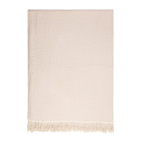 Lindis Oatmeal Throw by Linens & More