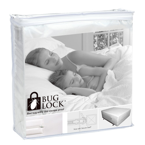 Bug Lock Protector for Mattresses and Bases by Protect-A-Bed