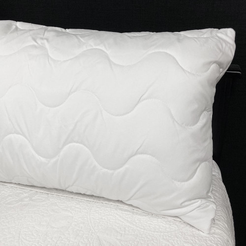 Commercial Zipped Microfibre Quilted Pillow Protector
