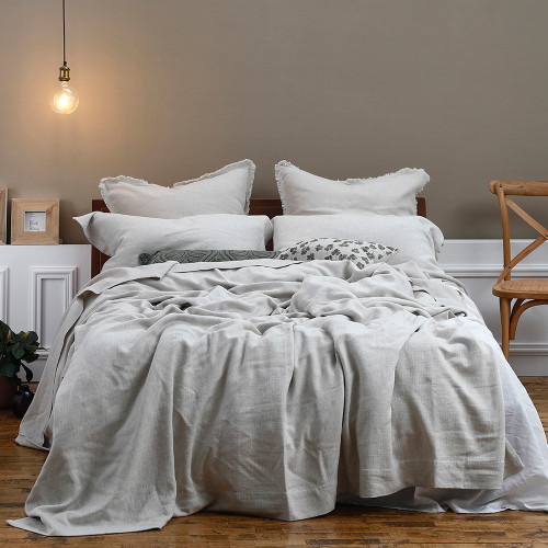 Crozet Natural Bedspread Set by MM Linen