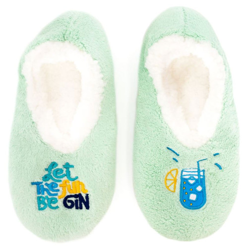 Womens Gin Slippers by Sploshies